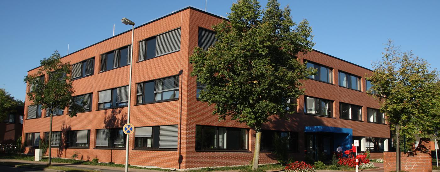 ZNS in Bocholt Außenansicht Gebäude
