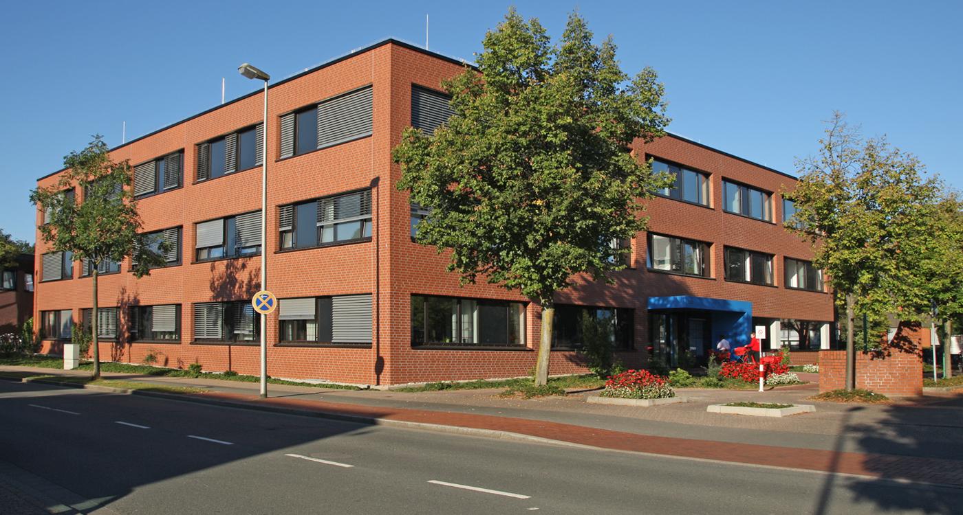 ZNS Bocholt, Gebäude Ärztehaus 3, Krankenhaus Bocholt, Zentrum für neurologische & seelische Erkrankungen