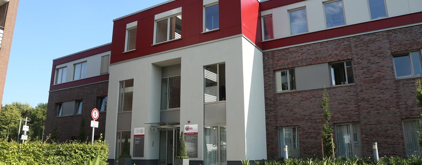 ZNS in Borken Außenansicht Gebäude