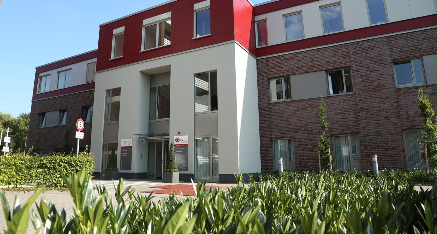 ZNS Borken, Gebäude, Krankenhaus Borken